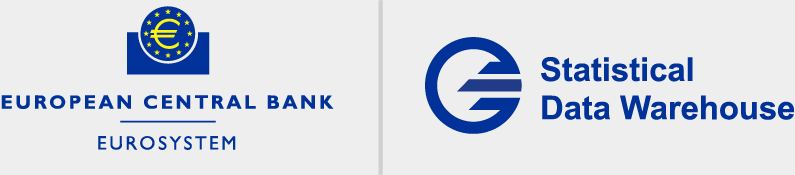 European Central Bank Statistical Data Warehouse Logo - Link to Homepage